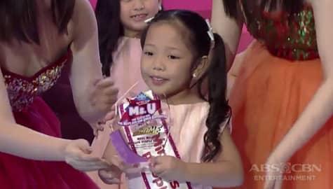 It's Showtime: Faith Odevilas, nakuha ang Mini Miss U Madlang People Choice award Image Thumbnail