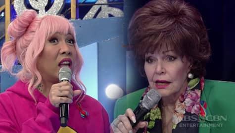 "It's Showtime: Vice Ganda, ginawa ang version ni Tita Pilita ng ""Boom Tarat Tarat"""