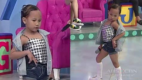 It's Showtime: Vice ganda, naaliw sa pag-awra ni Mini Miss U Princess Image Thumbnail