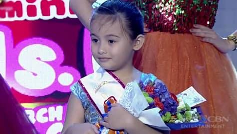 It's Showtime: Ella Cavanaugh, itinanghal na Mini Miss U of the day! Image Thumbnail