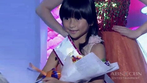 It's Showtime: Rich Cabasag, itinanghal na Mini Miss U of the day! Image Thumbnail
