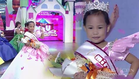 It's Showtime: Princess Aquino, nanalong Mini Miss U of the week at pasok na sa semifinals! Image Thumbnail
