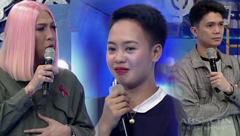 It's Showtime: Vice at Vhong, humanga sa katapangan ni TNT daily contender Kimberly Image Thumbnail