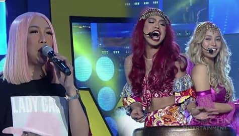 It's Showtime: 'Wala akong alam' Genie-Nga, umiwas sa issue na binato ni Vice Ganda! Image Thumbnail
