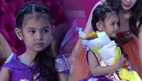 It's Showtime: Benesse Benegas, itinanghal na Mini Miss U of the day! Image Thumbnail