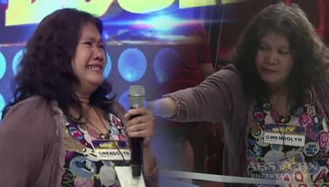 It's Showtime family, ibinigay kay Gwendolyn ang jackpot prize sa PiLing Lucky!  Image Thumbnail