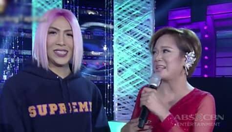 """It's Showtime: Vice Ganda, muling nakaharap ang trending Miss Q & A candidate na si """"Gema"""" Image Thumbnail"""