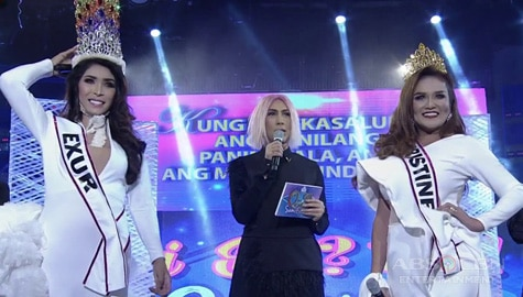 It's Showtime: Ang matinding tapatan nina Exur at Kristine sa Miss Q & A semifinals! Image Thumbnail