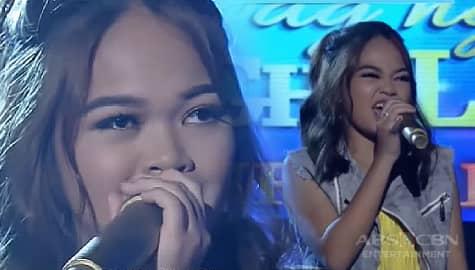 """PANOORIN: Ang trending na performance ni Janine Berdin ng """"Banal Na Aso"""" sa It's Showtime Thumbnail"""