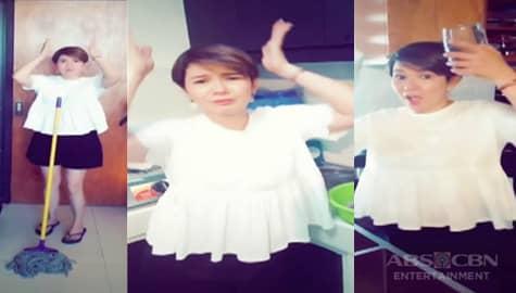 It's Showtime: Tyang Amy, hindi nagpahuli sa 'Corona Bye Bye Na' dance challenge Image Thumbnail
