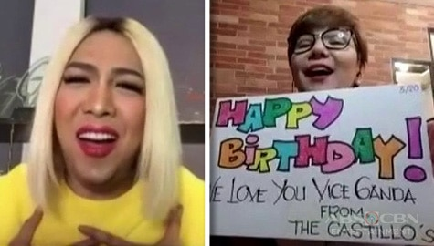 WATCH: Tyang Amy, may touching birthday message para kay Vice Ganda Thumbnail