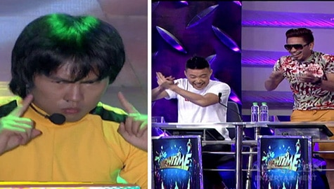 It's Showtime: Hurados, napatayo sa talent ni Bruce Lee KalokaLike Image Thumbnail