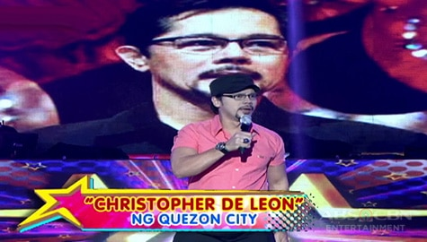 It's Showtime: Winning performance of Ultimate KalokaLike Christopher De Leon Image Thumbnail