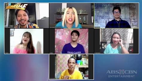 It's Showtime: Vice, Jhong at Vhong, masayang nakipagkwentuhan sa mga 'Say Mo, Sing Ko' contestants Image Thumbnail
