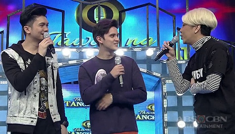 It's Showtime: Vice Ganda, pinagkumpara sina James Reid at Vhong