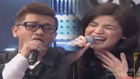 WATCH: Ang pangmalakasan singing showdown nina Anne at Jhong sa It's Showtime! Image Thumbnail