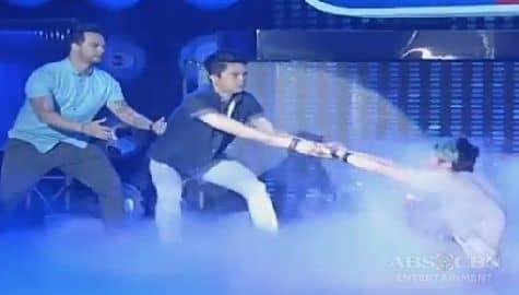 Ang bali-buto dance nina Billy, Vhong at Vice sa It's Showtime Image Thumbnail
