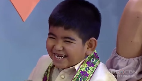 It's Showtime: 10 cute and bibo moments of Yorme that charmed madlang people in Mini Ms U Image Thumbnail