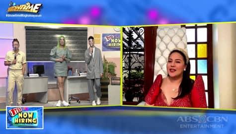 It's Showtime: Karla Estrada, sumali sa 1Ted Now Hiring para humanap ng bagong empleyado sa kanyang salon Image Thumbnail