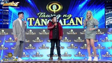 It's Showtime: Tatay Rommel, inihalintulad sina Vice, Vhong at Jhong sa mga isda Image Thumbnail