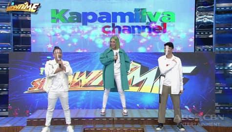 Jhong, ginawan ng step ang bagong Kapamilya Channel Station ID | It's Showtime Image Thumbnail