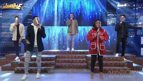 WATCH: Mark Michael, Sofronio, Jex, Julius and Donna perform on It's Showtime Image Thumbnail