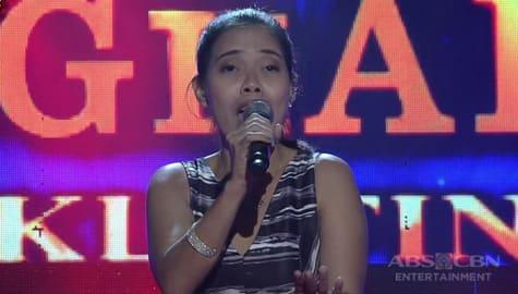 TNT Weekly Finals: Marissa Yanga sings Broken Vow Image Thumbnail