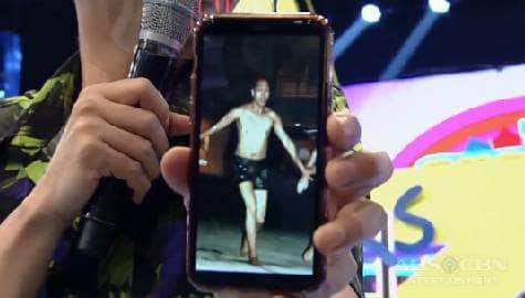 'Nakapikit ka pa diyan!' Vhong, humanap ng throwback picture ni Vice Ganda!   It's Showtime Image Thumbnail
