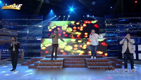 WATCH: Randy Santiago, Nyoy Volantes, Jugs & Teddy perform on It's Showtime