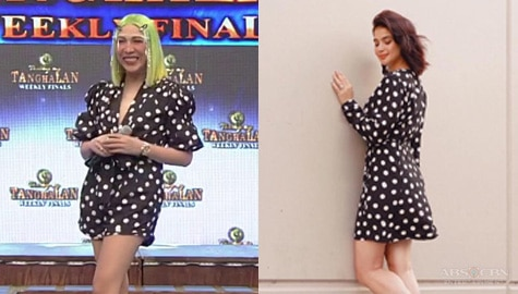 It's Showtime: Vice Ganda, peg si Anne Curtis sa kanyang OOTD