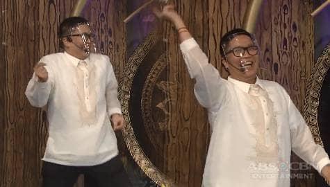 'Kailangan kumita ng pera eh' Jugs, nahuli ni Vhong na sumasayaw sa gilid | It's Showtime Image Thumbnail