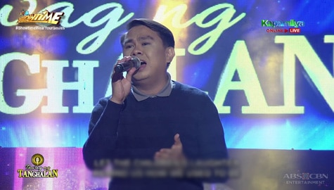 TNT 4: Mark Anthony Castro sings Greatest Love Of All | Round 1 Image Thumbnail