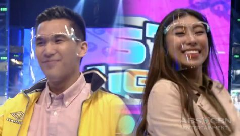 Ex-PBB housemates Gino at Kiara, nakisaya sa Mas Testing sa It's Showtime Image Thumbnail