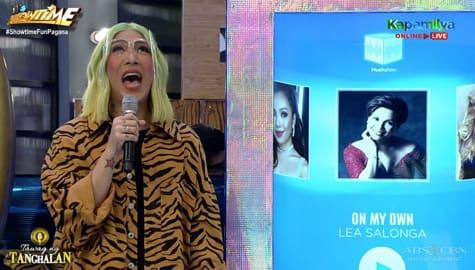 Vice Ganda, ginaya ang pagkanta ni Lea Salonga | It's Showtime Image Thumbnail