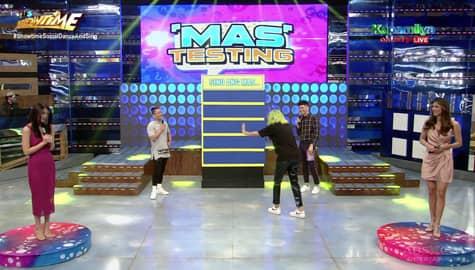 Nicole, tinukso si Jhong sa kaibigang si Cindy | It's Showtime Image Thumbnail