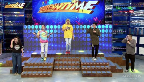 It's Showtime family, sabay-sabay na ginawa ang It Really Hurts Challenge