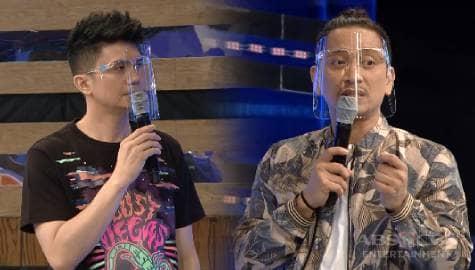 Jhong at Vhong, nagbigay ng kanilang papuri sa lahat ng mga frontliners! | It's Showtime Image Thumbnail