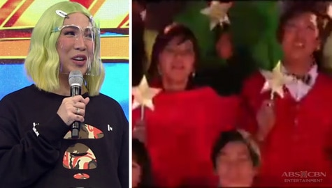 It's Showtime: Vice Ganda, inaalala ang kanyang first ever Christmas station ID sa ABS-CBN