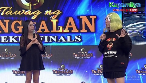 It's Showtime: Vice, tutuparin ang request na chicken bucket ng anak ni TNT contender Kharen Image Thumbnail