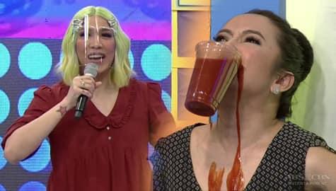 Vice Ganda, may kakaibang ipinainom kay Anton Diva | It's Showtime Image Thumbnail