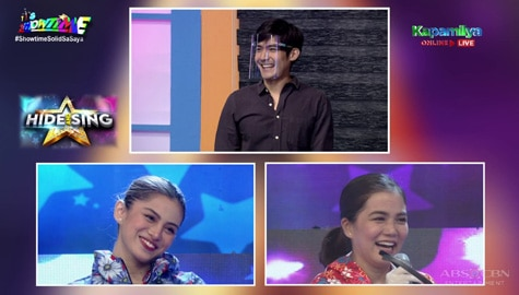 Vice Ganda at Robi, nahulaan na si Juris ang celebrity singer sa Hide & Sing | It's Showtime