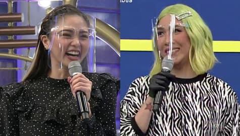 """""""Hindi mo kayang mag-hi sa ex?"""" Vice Ganda, may tanong kay Kim Chiu   It's Showtime Image Thumbnail"""