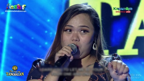 TNT 4: Charlyn Yangyang sings One And Only | Round 1 Image Thumbnail
