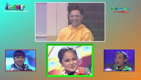 It's Showtime: Jeremy, nahulaan ang celebrity singer sa Hide & Sing na si Janine Berdin!