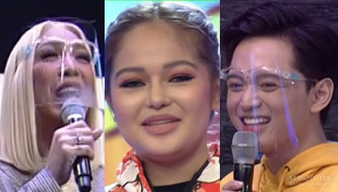It's Showtime: Vice, tinanong kung may something sina Janine at Jeremy