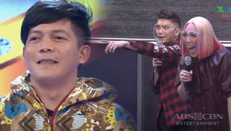 Jovit, ginulat sina Vice, Vhong at Jhong sa pagsali sa Hide & Sing | It's Showtime Image Thumbnail