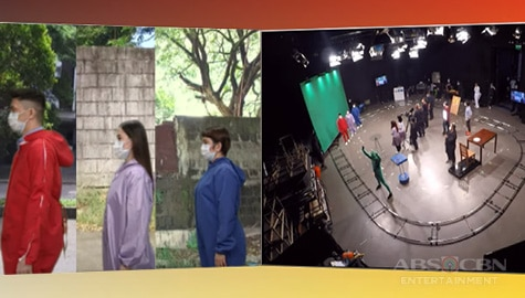FULL BTS: How Team Vhong, Amy and Jackie achieved the visual effects for their Magpasikat 2020 performance Image Thumbnail
