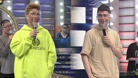 Team Vhong, ipinagyabang kay Vice Ganda ang kanilang perfect score | It's Showtime Image Thumbnail