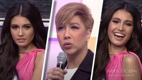Miss Universe Philippines 2020 Rabiya, ipinakita ang tamang facial expression sa pagrampa | It's Showtime Image Thumbnail