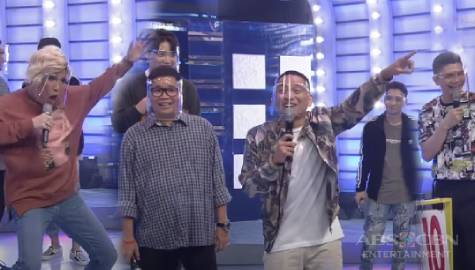"""It's A Prank!""  Vice Ganda, inasar ang Team Vhong 